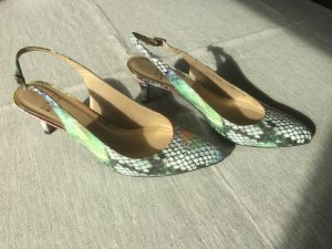 Stuart weitzman Slingback Pumps multicolored leather