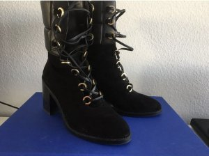 Stuart weitzman Lace-up Boots black