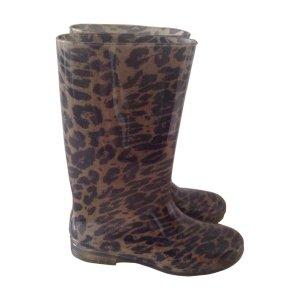 Stuart Weizmann Leopard Rainboots