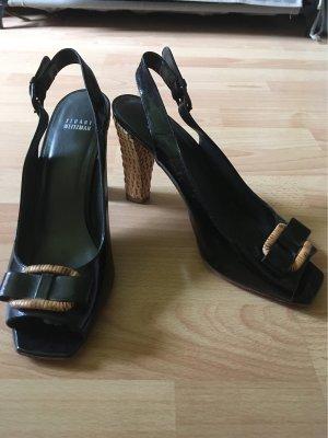 Stuart weitzman High Heel Sandal black-light brown leather