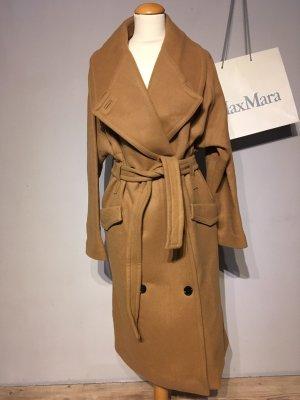 H&M Studio Cappotto invernale marrone chiaro-sabbia