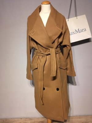 Studio Collection oversize camel coat
