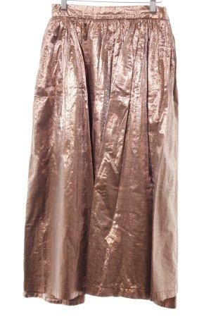 Studio Dress Maxi Skirt bronze-colored extravagant style
