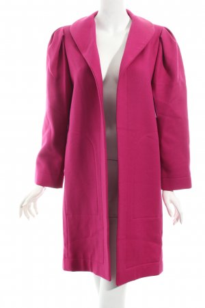 Studio Dress Wollmantel magenta Casual-Look