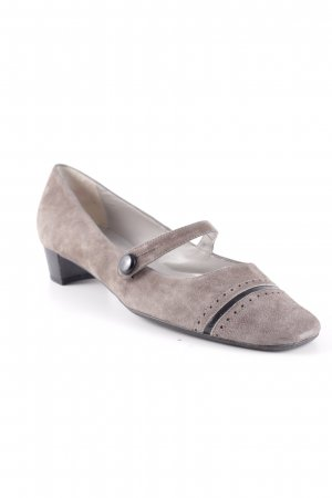 Studio Paloma Mary Jane Ballerinas grau Casual-Look