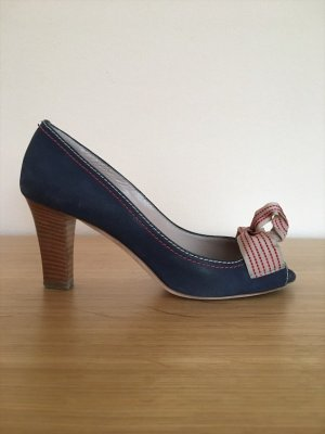 STUDIO POLLINI Peeptoes in Blau