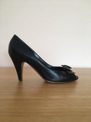 STUDIO POLLINI Peeptoes in Schwarz