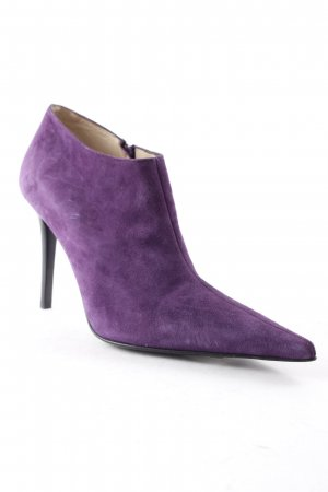 Studio pollini Reißverschluss-Stiefeletten blauviolett Business-Look