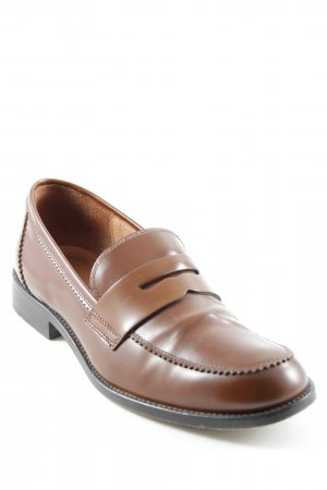 Studio pollini Slippers cognac-coloured business style