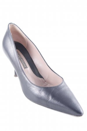 Studio pollini Spitz-Pumps schwarz Business-Look