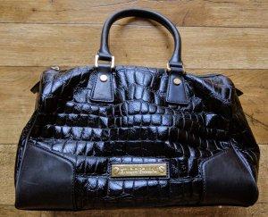 Studio pollini Bowling Bag black leather