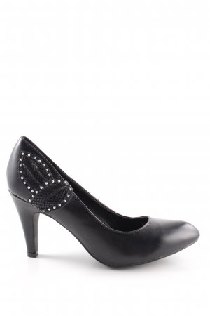 studio W Spitz-Pumps schwarz Business-Look