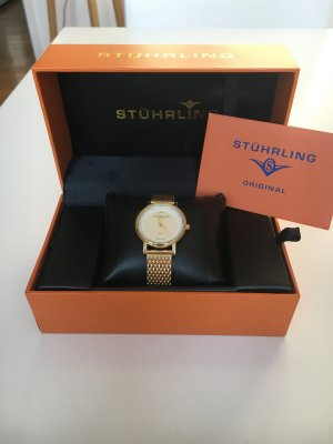 Stührling Original Damen Uhr gold diamond