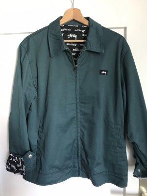 Stüssy Jacke im Bomber Stil, NEU, 28/M, grün