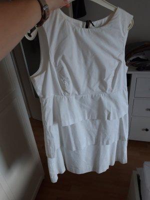 Stufenkleid in weiß