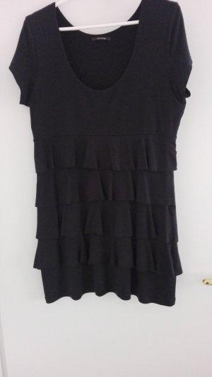 Comma Shirt Dress black mixture fibre
