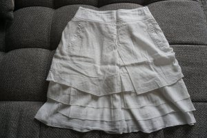 Broomstick Skirt natural white