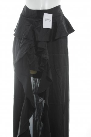 Broomstick Skirt black elegant