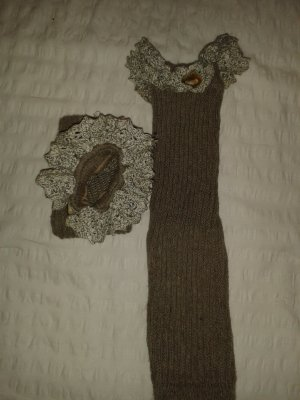 Legwarmers sand brown