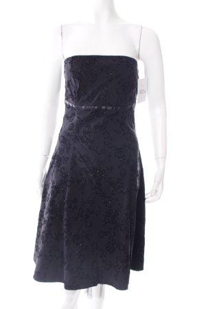Style A-Linien Kleid schwarz Eleganz-Look