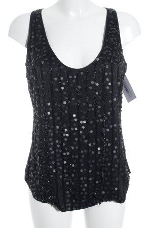 Style & Butler ärmellose Bluse schwarz Elegant