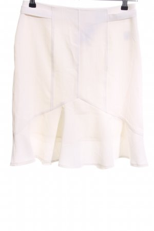 Style Godet Skirt white casual look