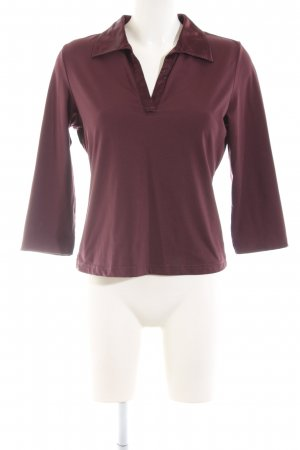 Style Polo shirt rood casual uitstraling