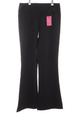 Style Pantalón de campana negro look casual