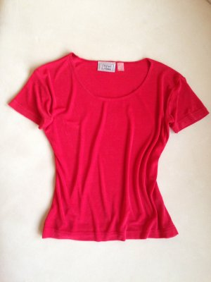 Styled by YORN T-Shirt Damenmode elegant rot Gr. 36/38