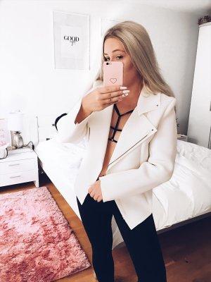 Veste oversize blanc