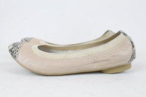 STYLESNOB Ballerina Schuhe Gr. 41 beige NEU