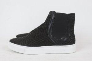 STYLESNOB Slipon Sneaker Schuhe Gr. 37 schwarz NEU (18/3/E)