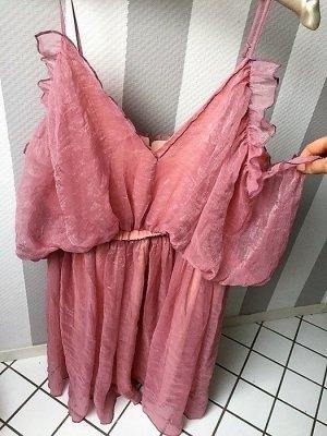 Styliche Blogger Lookbookstore Kleid in gr 40 Farbe Rosa