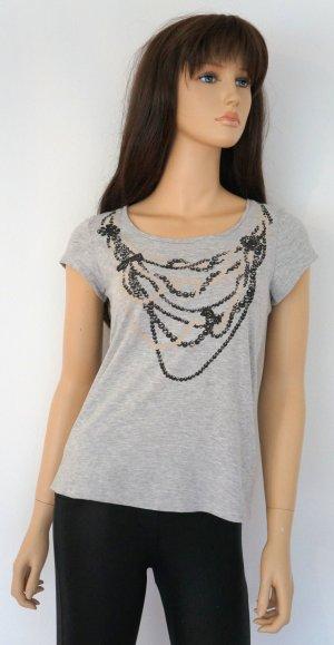 Stylisch & NEU! * H&M, T-shirt, Top, grau xs, 34