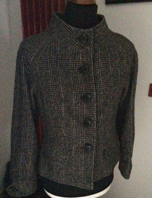 Stylisch Trend Wollblazer schwarz/grau kariert *PIA JESSEN department* 40 wie neu