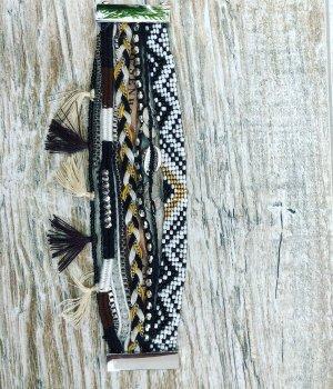 Bracelet black-white
