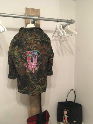Stylische Army Jacke
