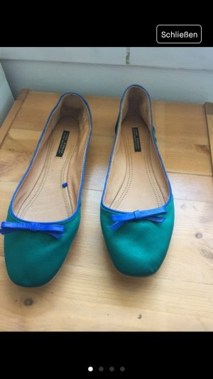 Stylische Ballerinas von Zara Colourblocking