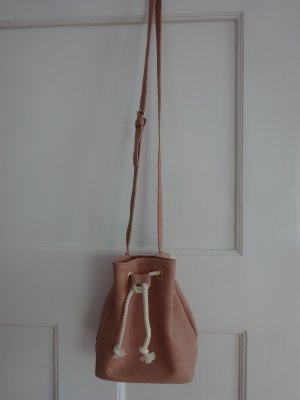 Pouch Bag nude imitation leather