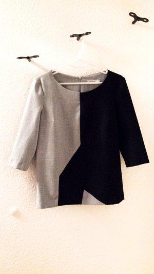 Stylische Bluse in schwarz/grau von Promiss, Gr. 36