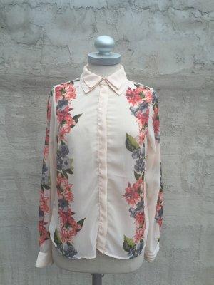 Stylische Bluse mit Blumenmuster