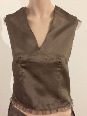 Stylische Bluse mit Rock von Stefanel