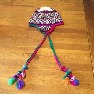 Stylische Bommelmütze aus Peru