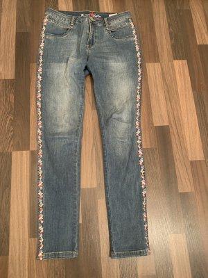 Buena Vista Tube Jeans multicolored