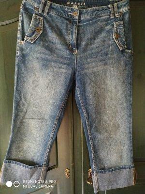 Steve Ketell 3/4 Length Jeans slate-gray