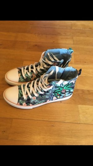 Another A High top sneaker munt-zalm