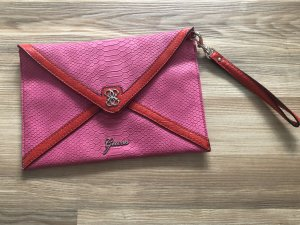 Guess Clutch roze-rood