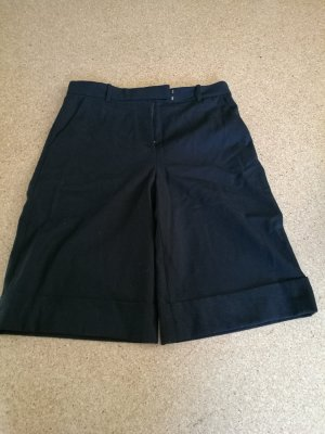 COS Falda pantalón de pernera ancha negro Algodón