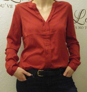 stylische dunkelrote Bluse von Jaqueline de Yong