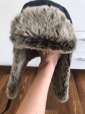 Woolrich Chapeau en fourrure multicolore